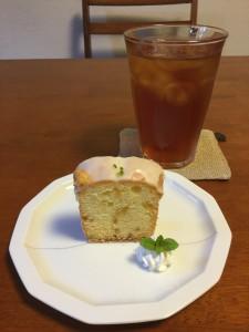 文旦ケーキ